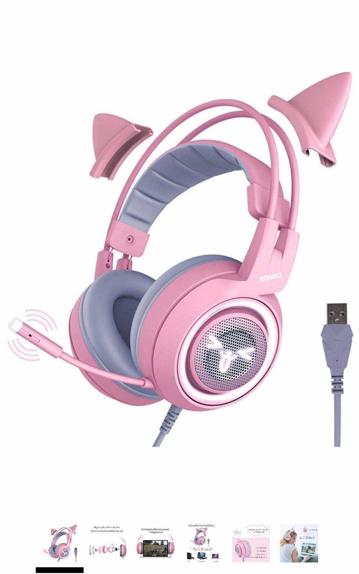Gaming headset headphones gaming headphones headset