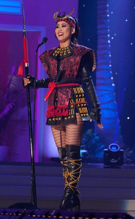 Miss Japan, Miss Universe, Costume