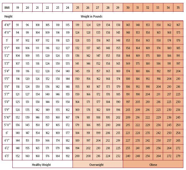 Weight height chart including bmi conversion also best hobies images on pinterest coasters dishcloth and knit rh