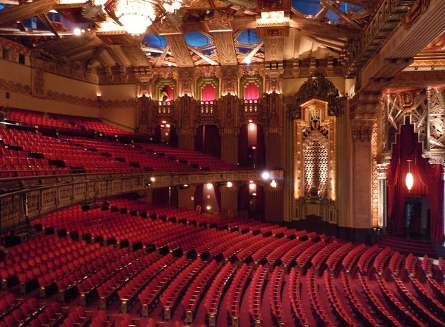 Pantages Theater Pantages Theater Phantom Of The Opera Show Place
