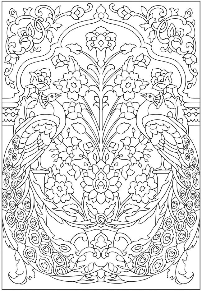 8 Free Printable Mindful Colouring Pages Peacock Coloring Pages Designs Coloring Books Colouring Pages