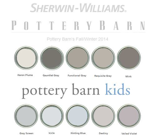 The Ultimate Gray Paint List- The Best 30+ Designer Colors ...