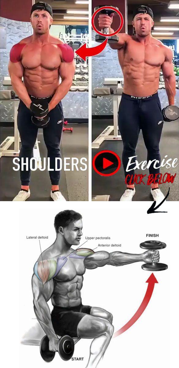 Front Shoulder Raise Shoulder Workout Workout Videos Exercise