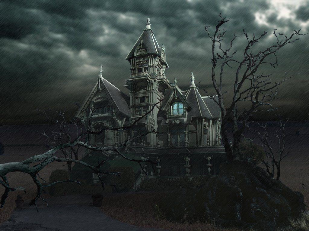 Halloween Haunted Houses With Images Halloween Haunted Houses