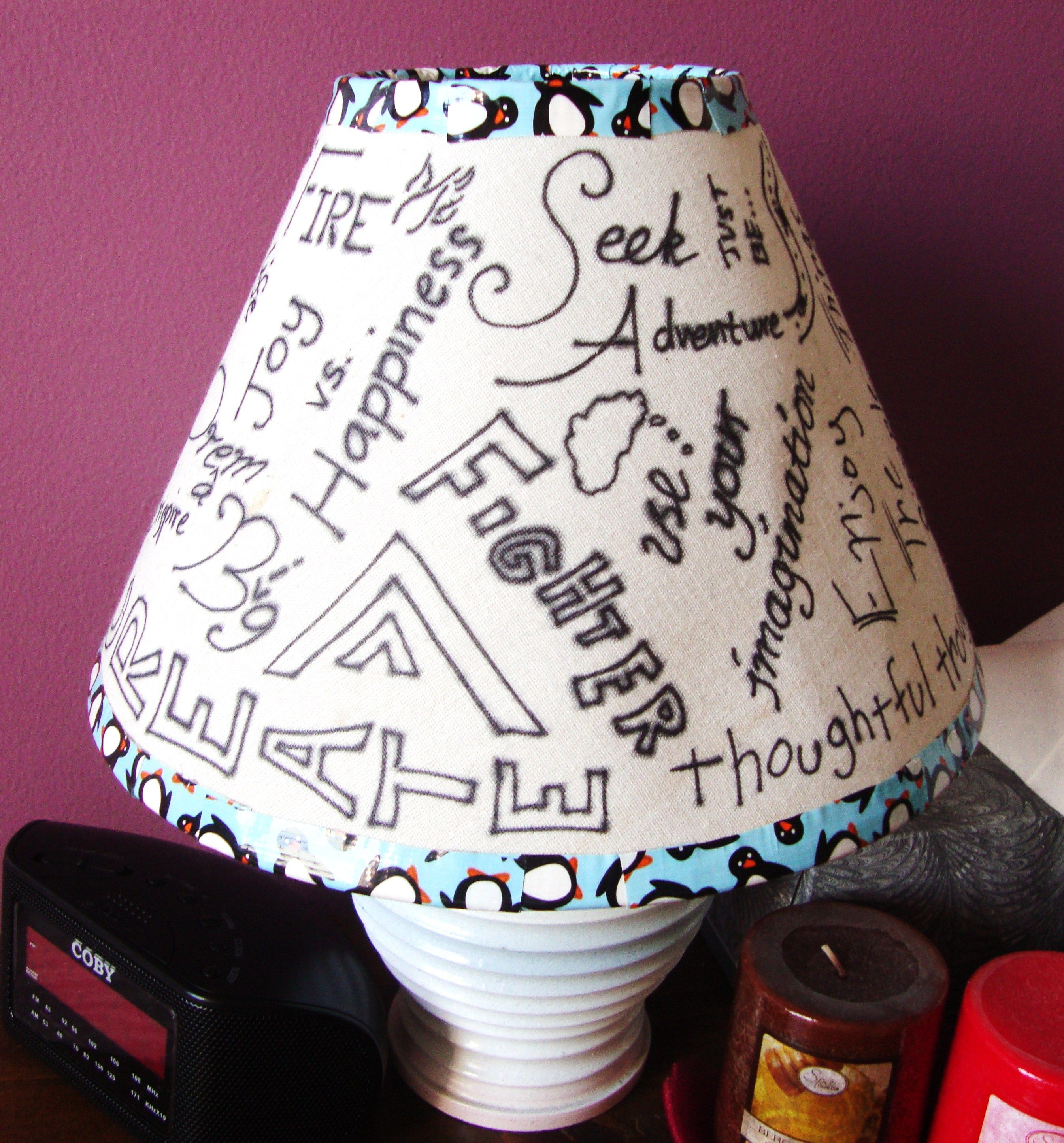 I Got Tired Of My Dirty Old Lampshade, So I