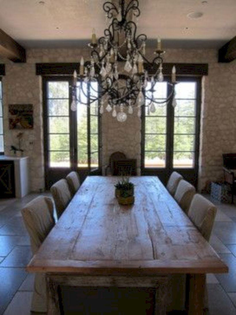 60 Creative Rustic Dining Room Design Ideas French Country