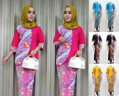 29+ Model Baju Batik Setelan Wanita Kombinasi Terpopuler 2017 ... b099243718