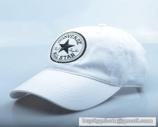 0cde27842b34 Converse All Star Baseball Cap Fsahion Embroidery Hat Spring summer Hats  White