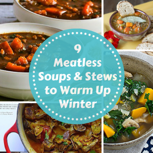 Try taking meat out of one meal a  day with these great recipes!