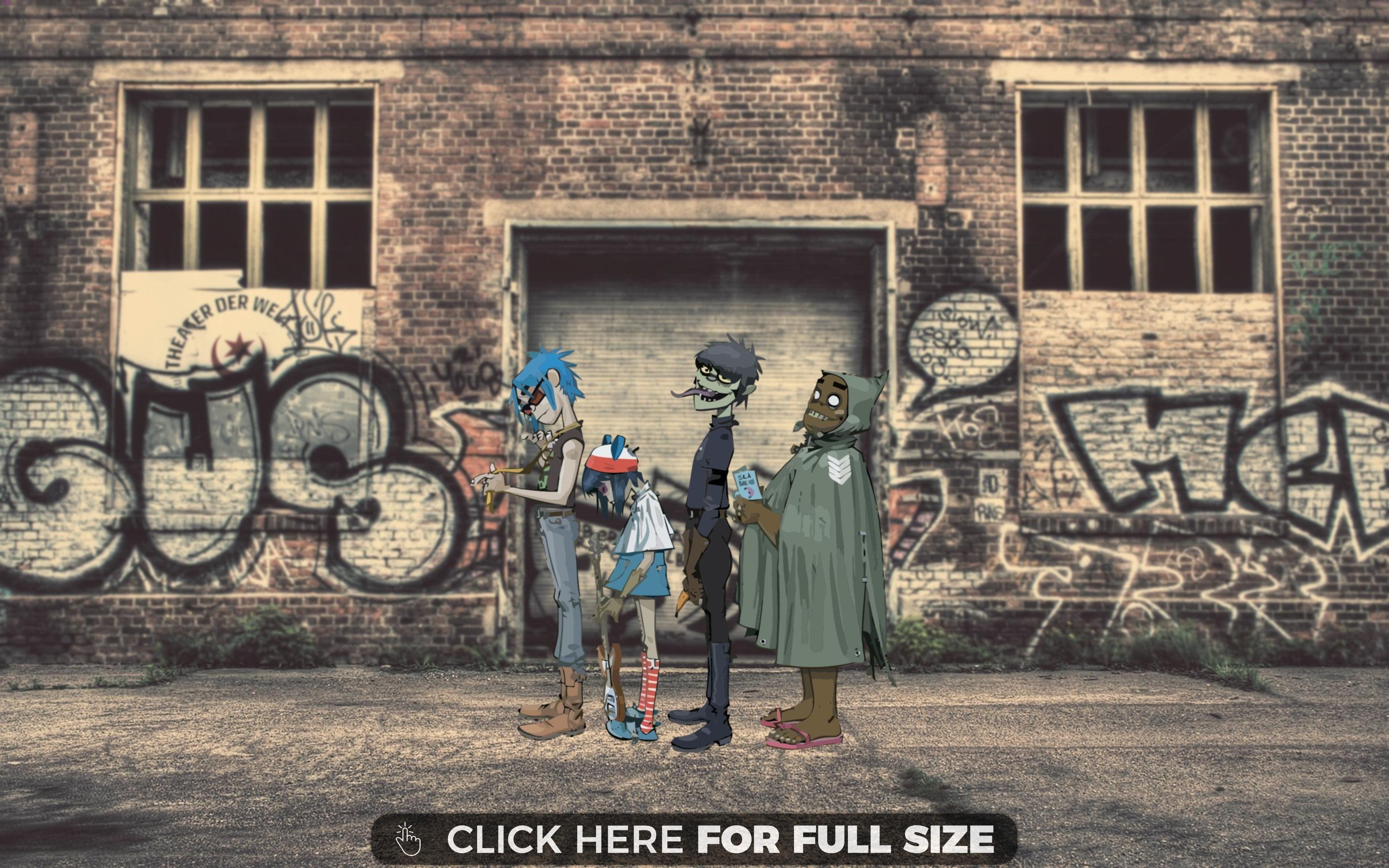 4K Gorillaz OC Gorillaz, Instagram wallpaper, 4k