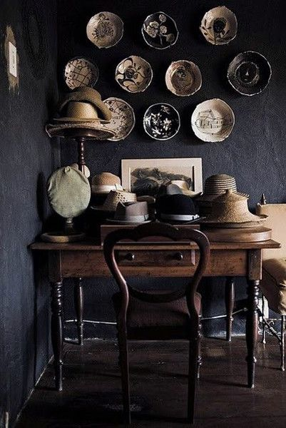 Collections Shine - Our Favorite Dark Living Spaces - Photos