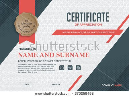Certificate Design Stock Photos, Images, \ Pictures Shutterstock - corporate certificate template