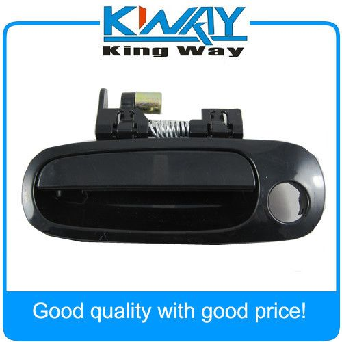 Black Outside Door Handle Driver Side Front Left Fit For Toyota Corolla 1998 99 2002 New Affiliate Toyota Corolla Corolla 1998 Toyota
