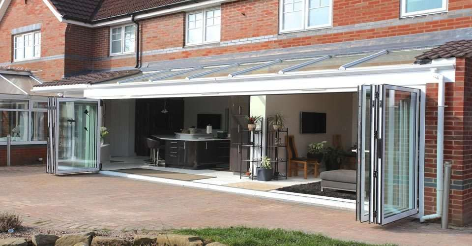Lean To Roofing Roofing Systems From Express Bi Folding Doors Lean To Roof Express Bi Folding Doors Roofing Systems