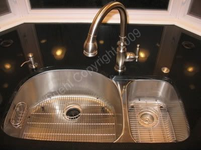 Medium image of do you have a kitchen faucet not mounted in center back of sink