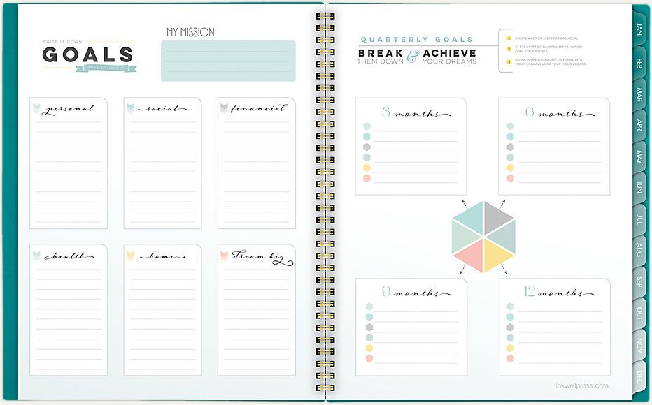 Livewell Weekly Monthly Planner Ip621 905 At A Glance Weekly