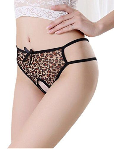 4563668e7 Panties Women Sexy Thong Gstring Leopard Open Back Lingerie Pack of 3      Be sure to check out this awesome product. Note It is Affiliate Link to  Amazon.