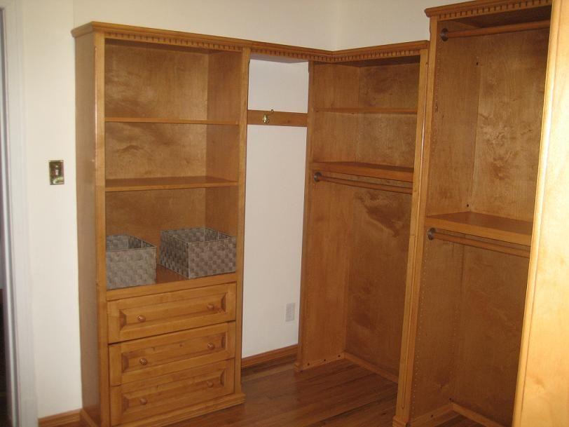 Custom Inwood Furniture Liberty Units For A Closet
