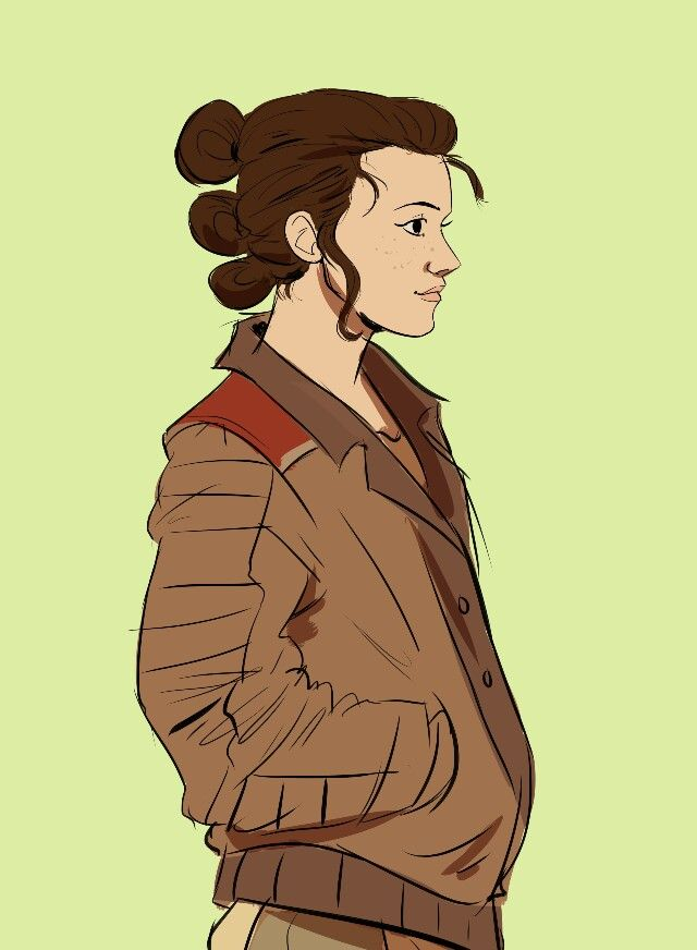 Rae From Star Wars Hair : Emilie, Lesaca, Wars,, Fandom,