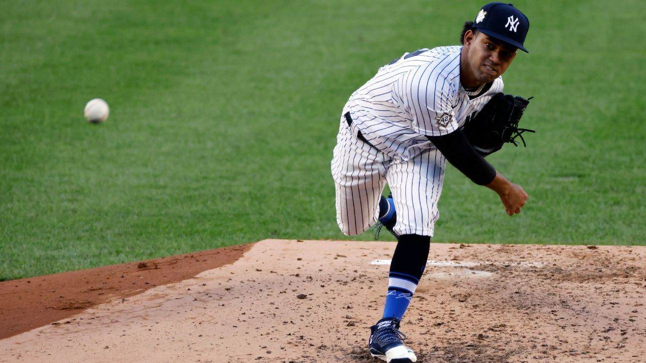 Garcia 21 Strong In Debut As Yanks Sweep Dh In 2020 Ny Yankees Yankees New York Yankees