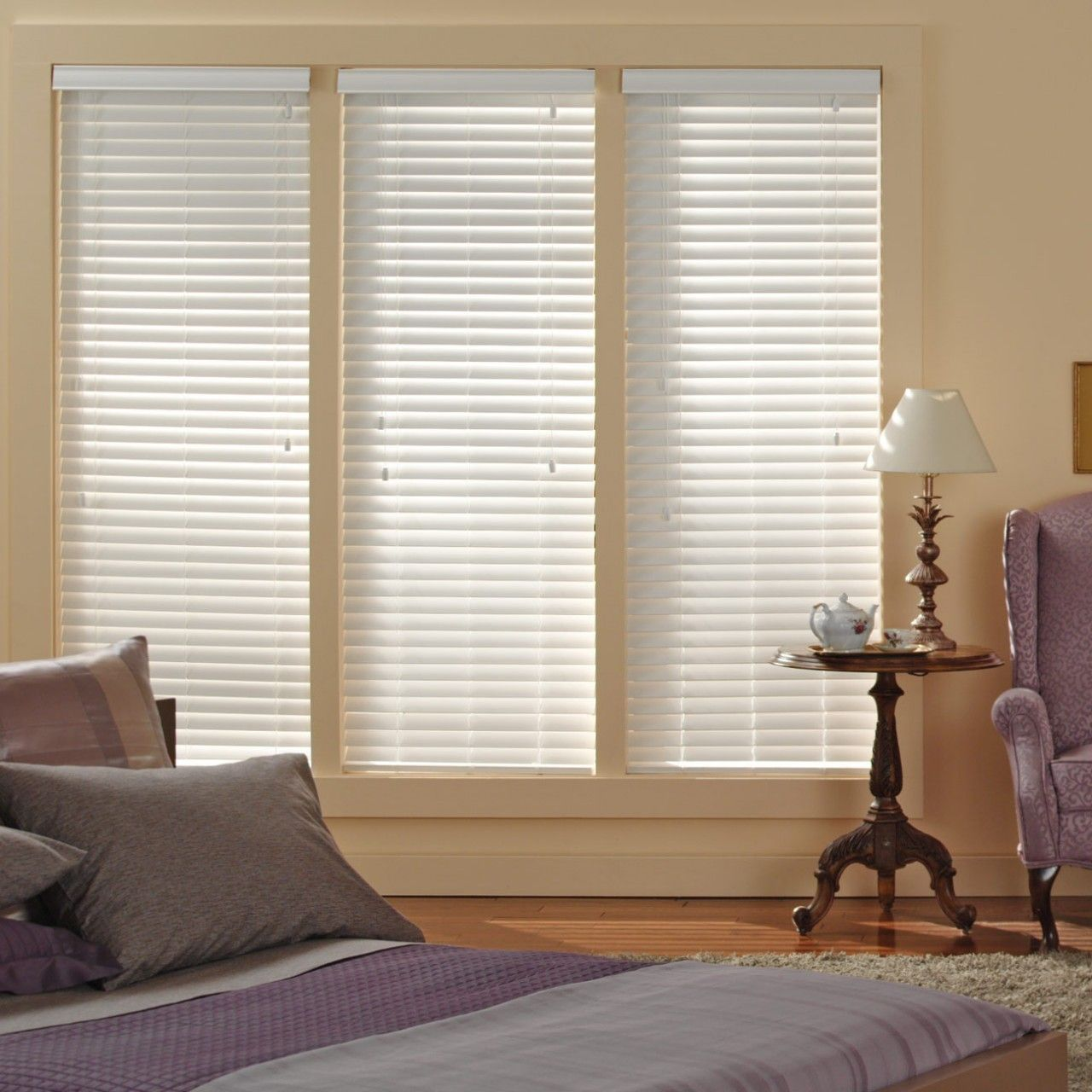 Inexpensive! High quality custom faux wood window blinds