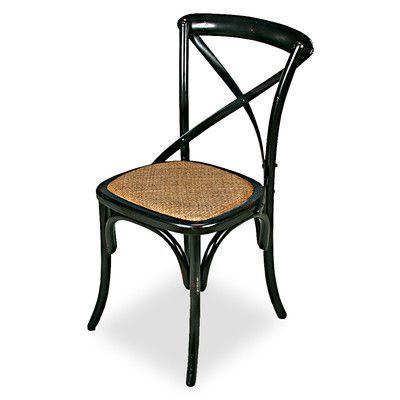 Sarreid Ltd Tuileries Gardens Solid Wood Dining Chair