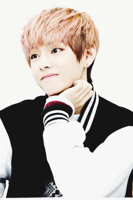 BTS V he looks like a anime character so cute | Taehyung