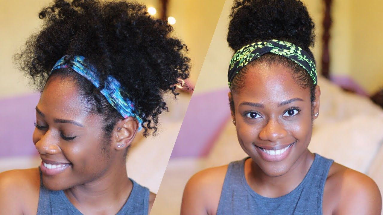 My favourite natural hairstyles using accessories youtube