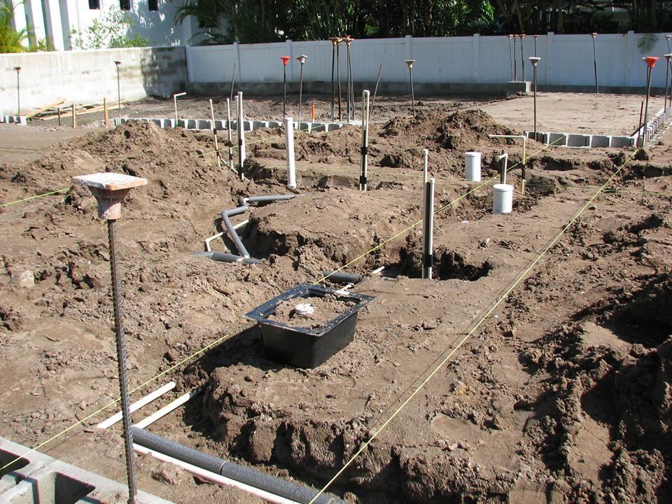 Underground plumbing rough-in Sarasota | DIY & Home Ideas | Home