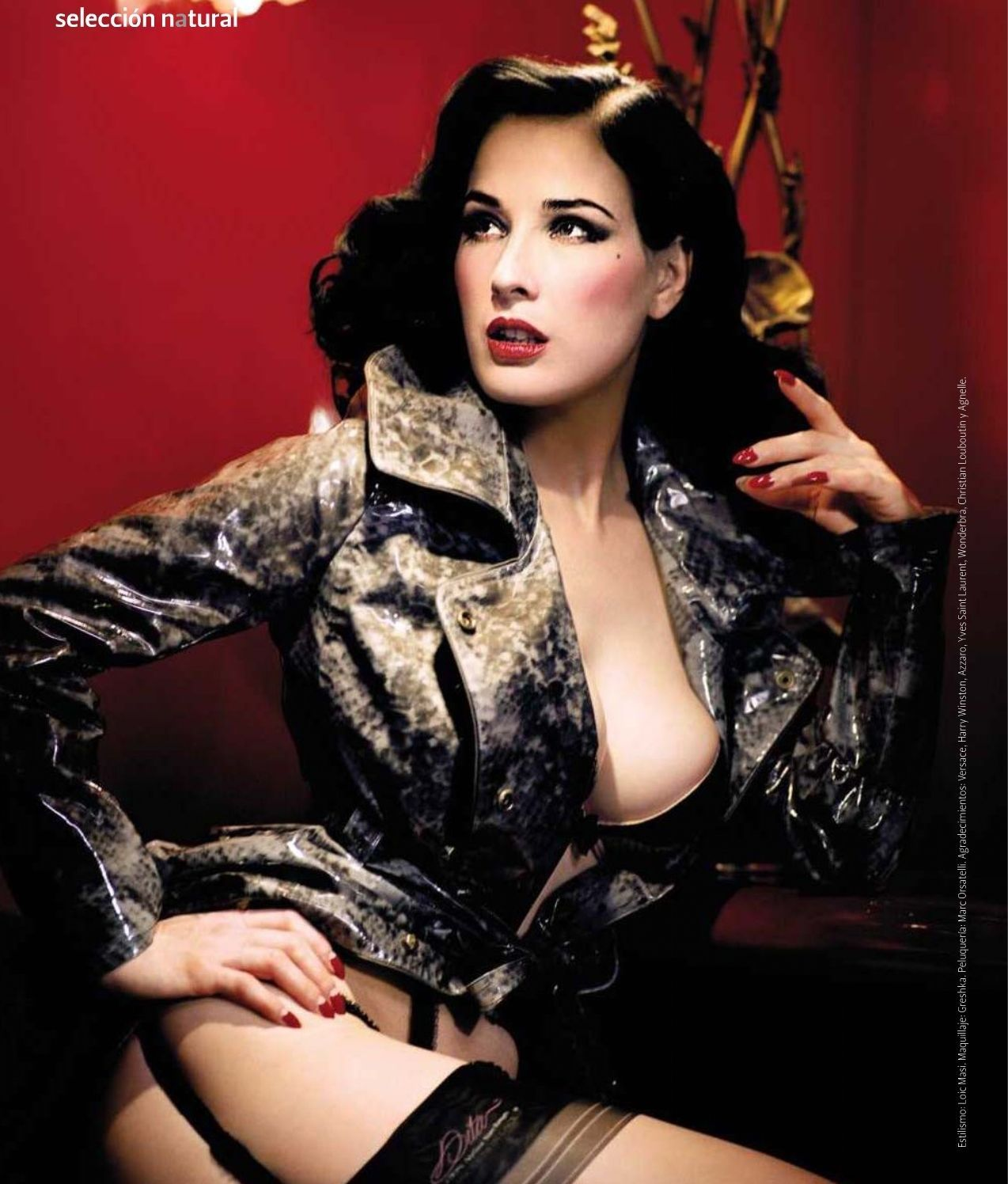 Dita Von Teese Hot Chick Of The Day Pictures Dita Von Teese