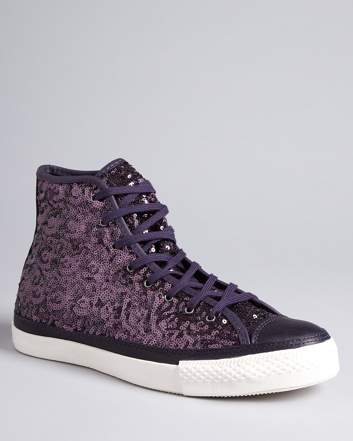 0e2c1e9322d2 Converse All Star Premium High Top Sneakers - Nightshade Sequin ...
