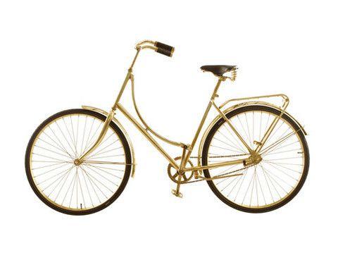 brass bike by van heesch design