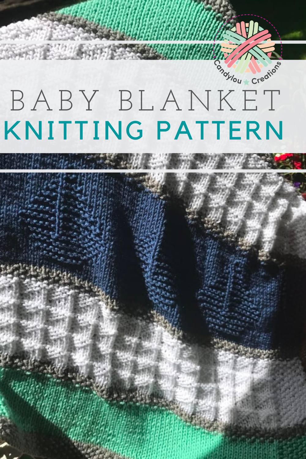Knit a nautical and sailboat themed baby blanket for the ...
