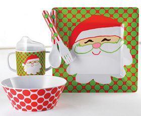 Santa Feeding Set