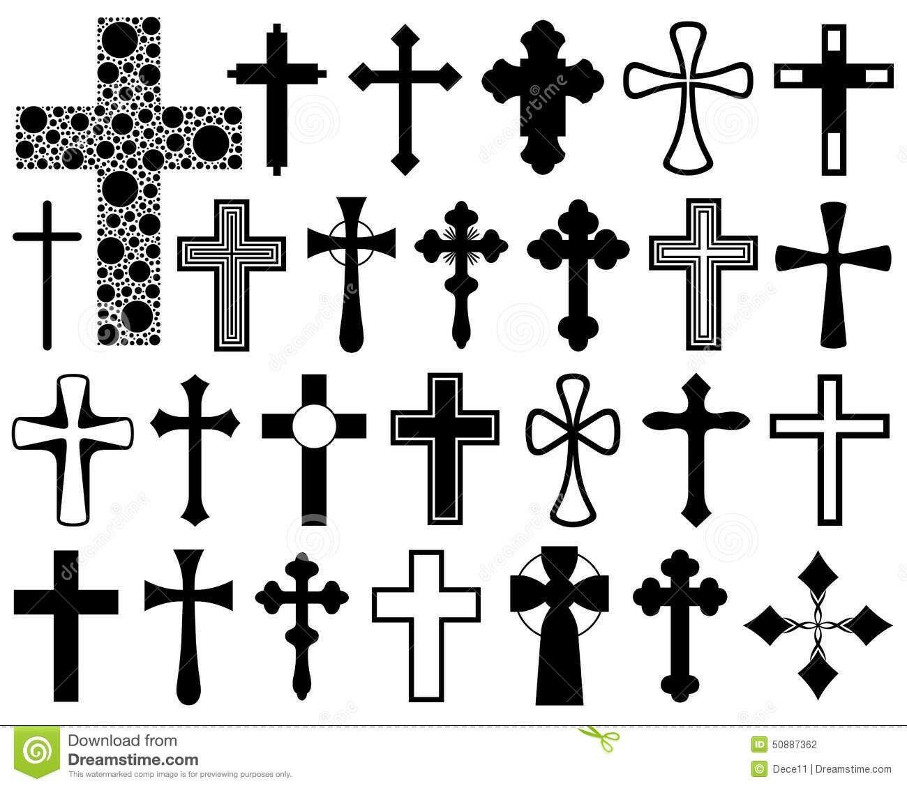 Kreuz Muster