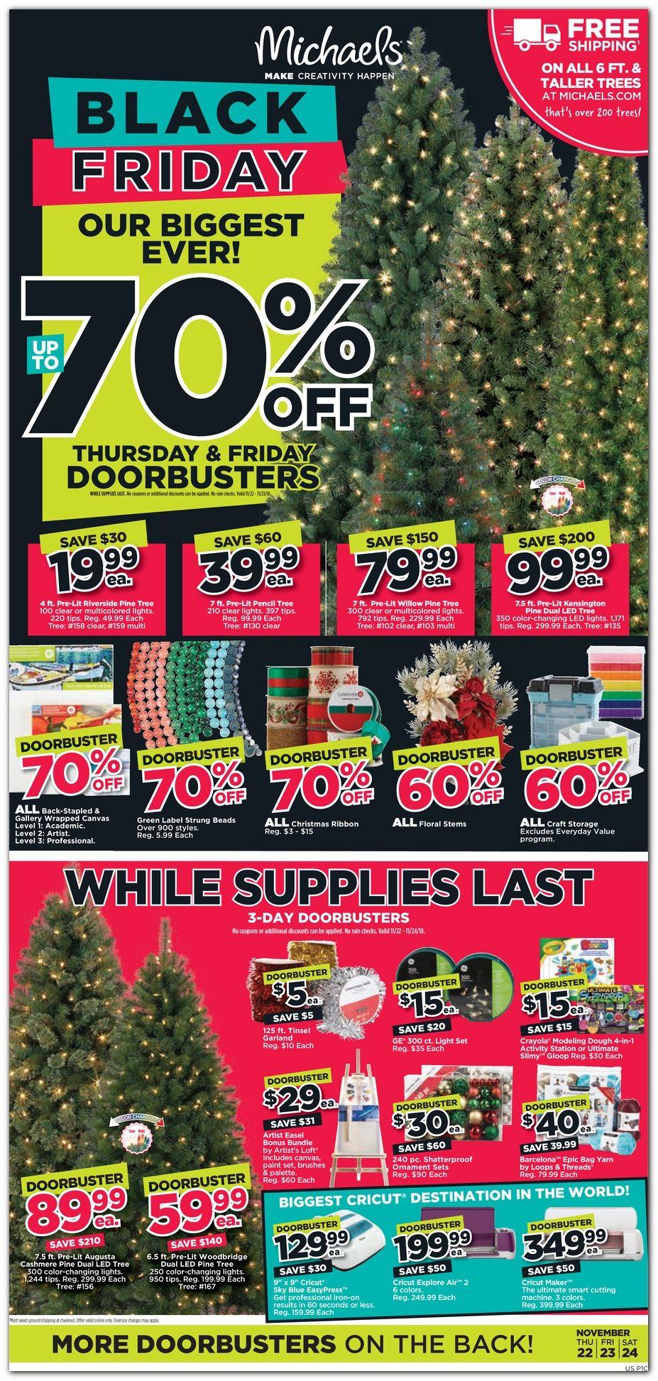 Michaels Black Friday Sale 2020 Get latest Discount