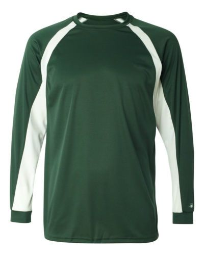 Details about MEN'S MOISTURE / ODOR WICKING, TWO TONE, LONG SLEEVE ...