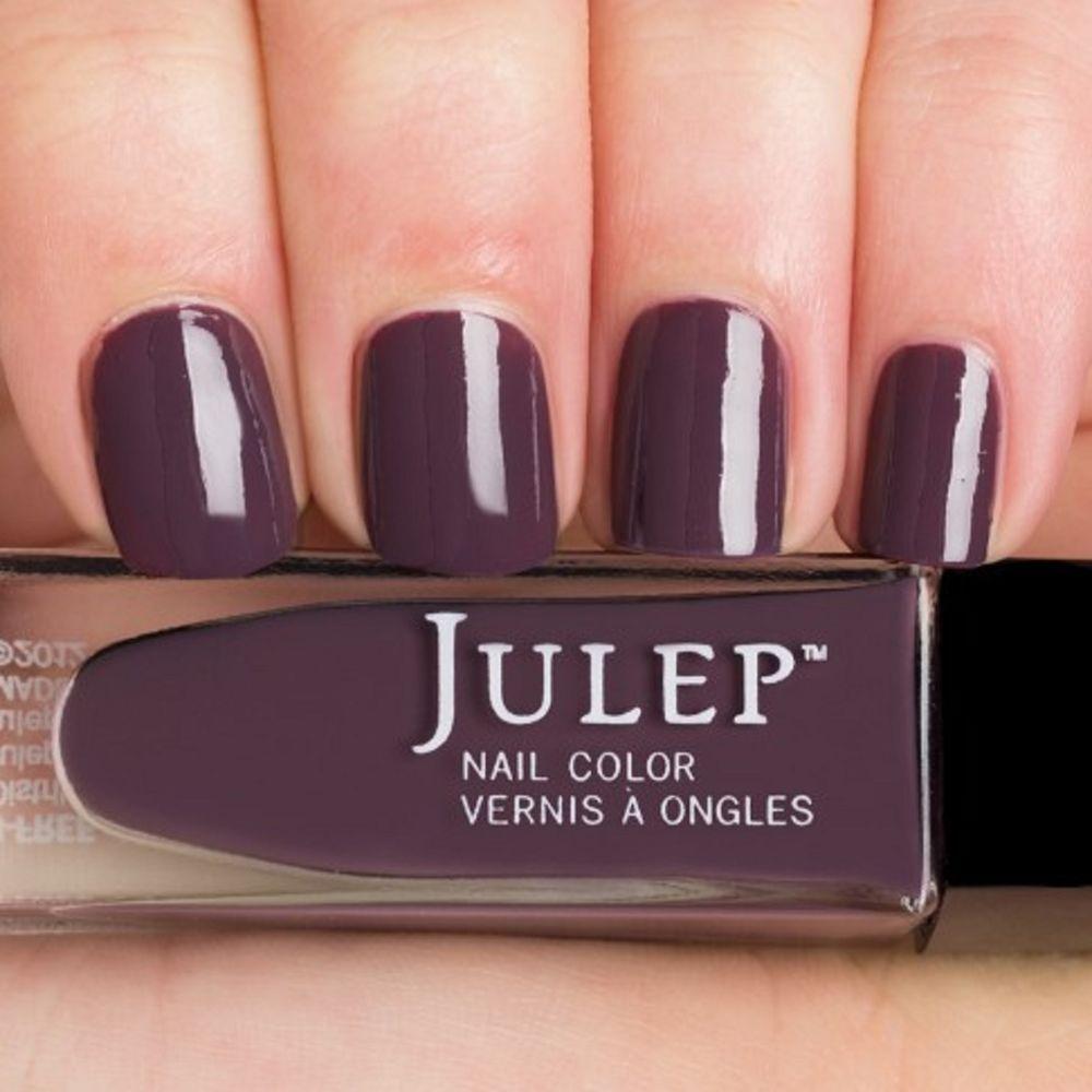Julep JOANNE Nail Color Treat Polish Boho Glam Smoky Plum Creme BNIB #Julep