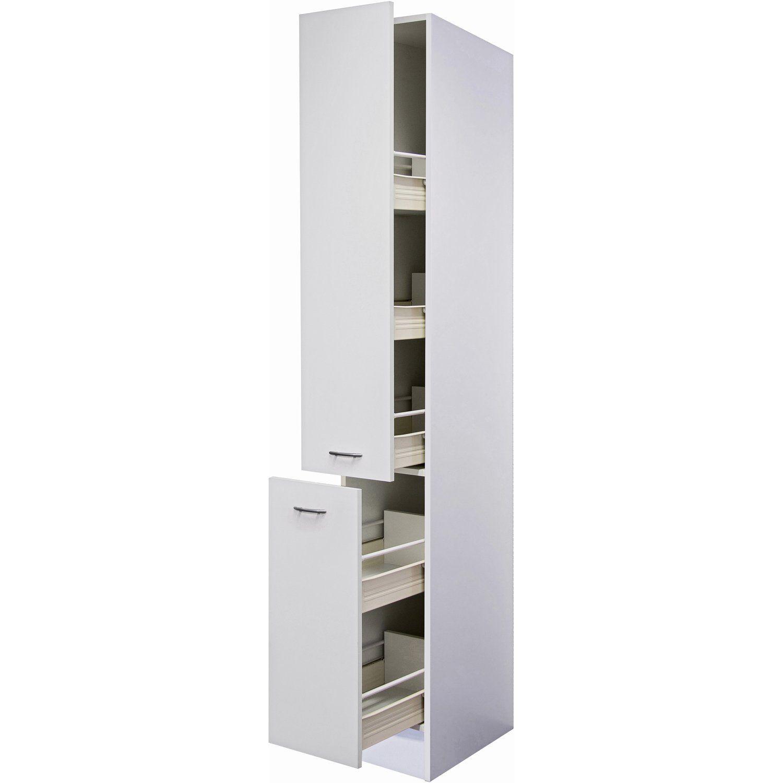 Flex-Well Classic Apotheker-Hochschrank Wito 30 cm Weiß | Küche ...