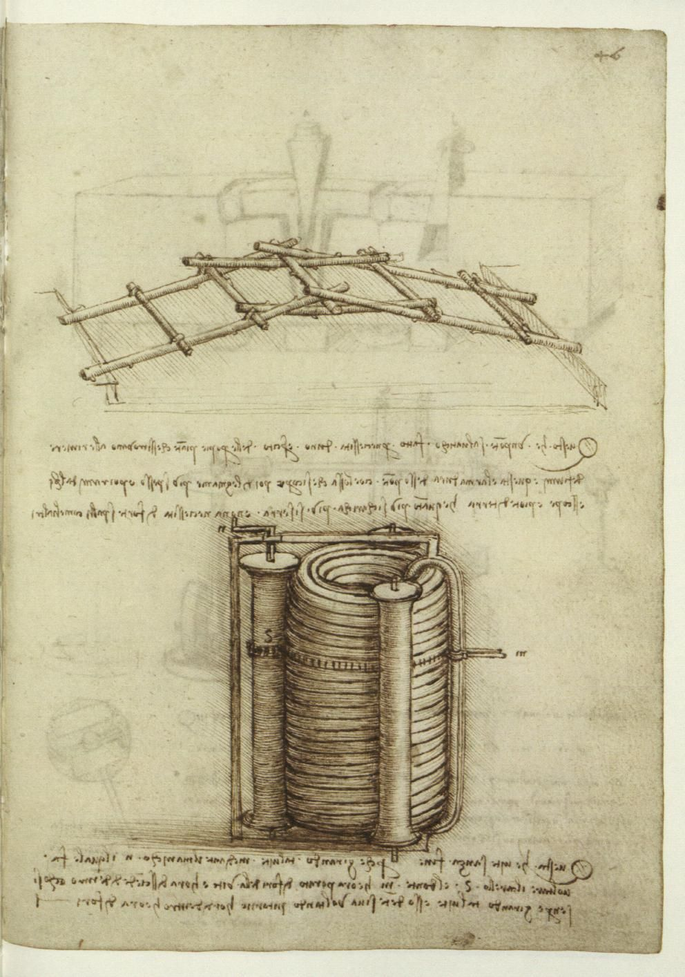 Leonardo da Vinci | Codex Madrid | National Library Madrid | Tratado de Estatica Y Mechanica| Library Number 8937