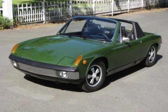 This 1970 Porsche 914-6 has had the original 2L engine repd at ...