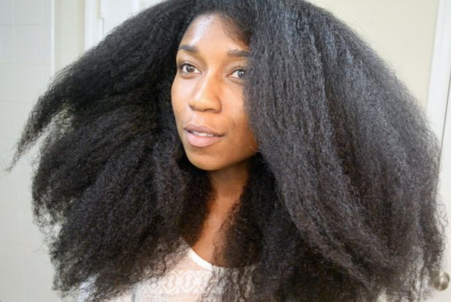 How To Safely Stretch Curly Hair Natural Hair Blowout Hair Without Heat Natural Hair Styles