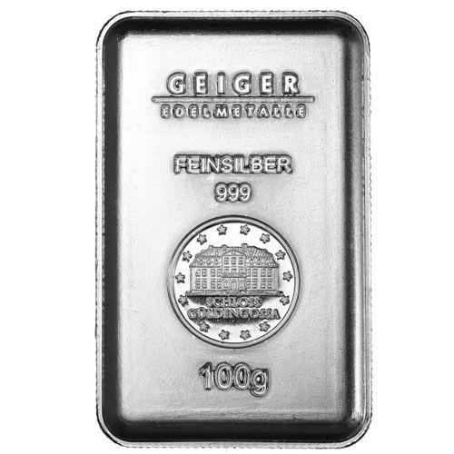 100 Gram Geiger Silver Security Line