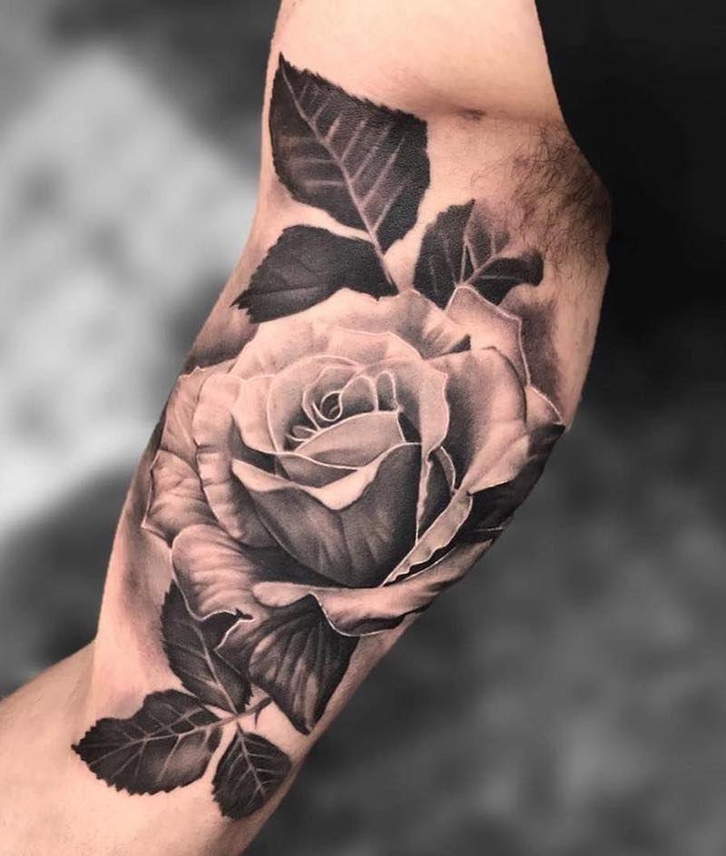 117 Of The Very Best Flower Tattoos Tattoo Insider Bicep Tattoo Inner Bicep Tattoo White Rose Tattoos