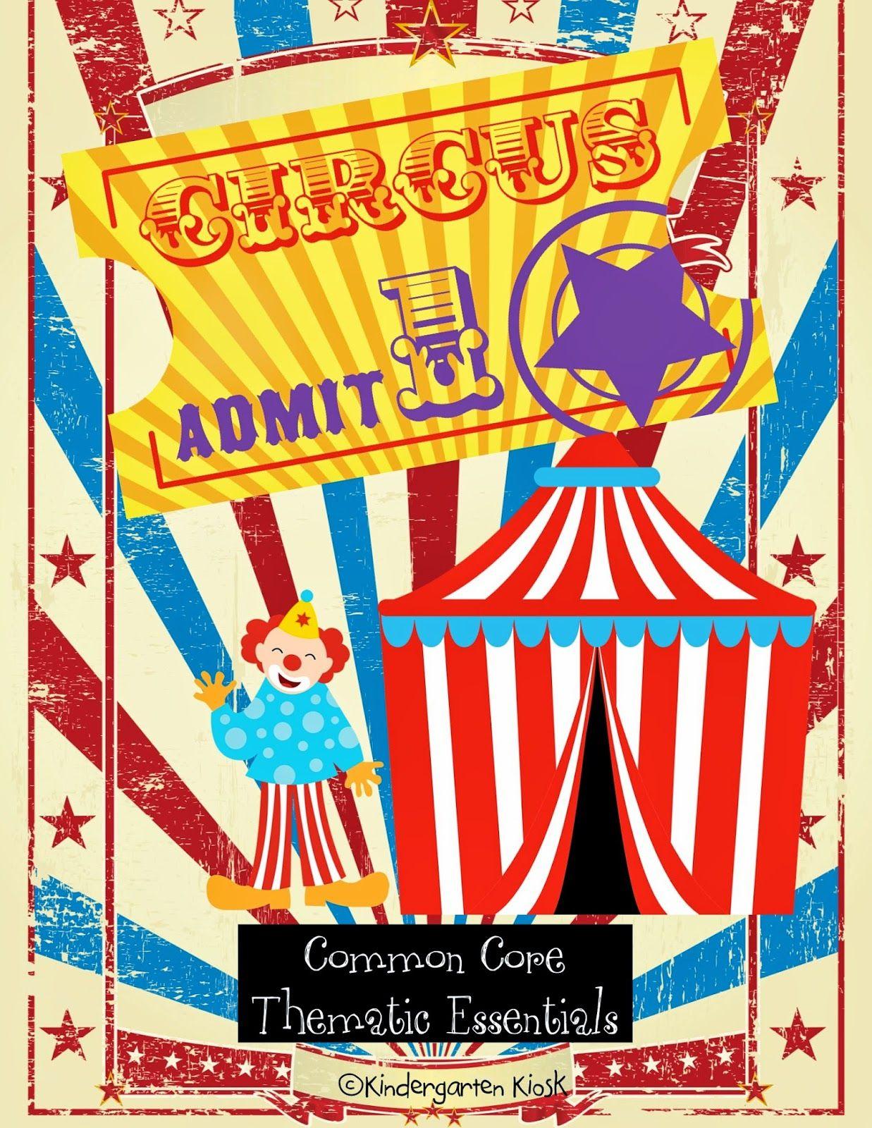 Circus Cross Curricular Thematic Unit