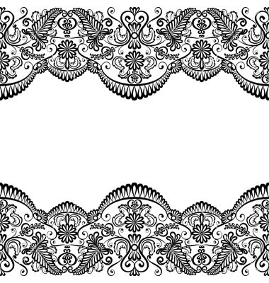 card with lace vector 1221427 by prikhnenko on vectorstock rh pinterest ca lace vector free free lace vector art