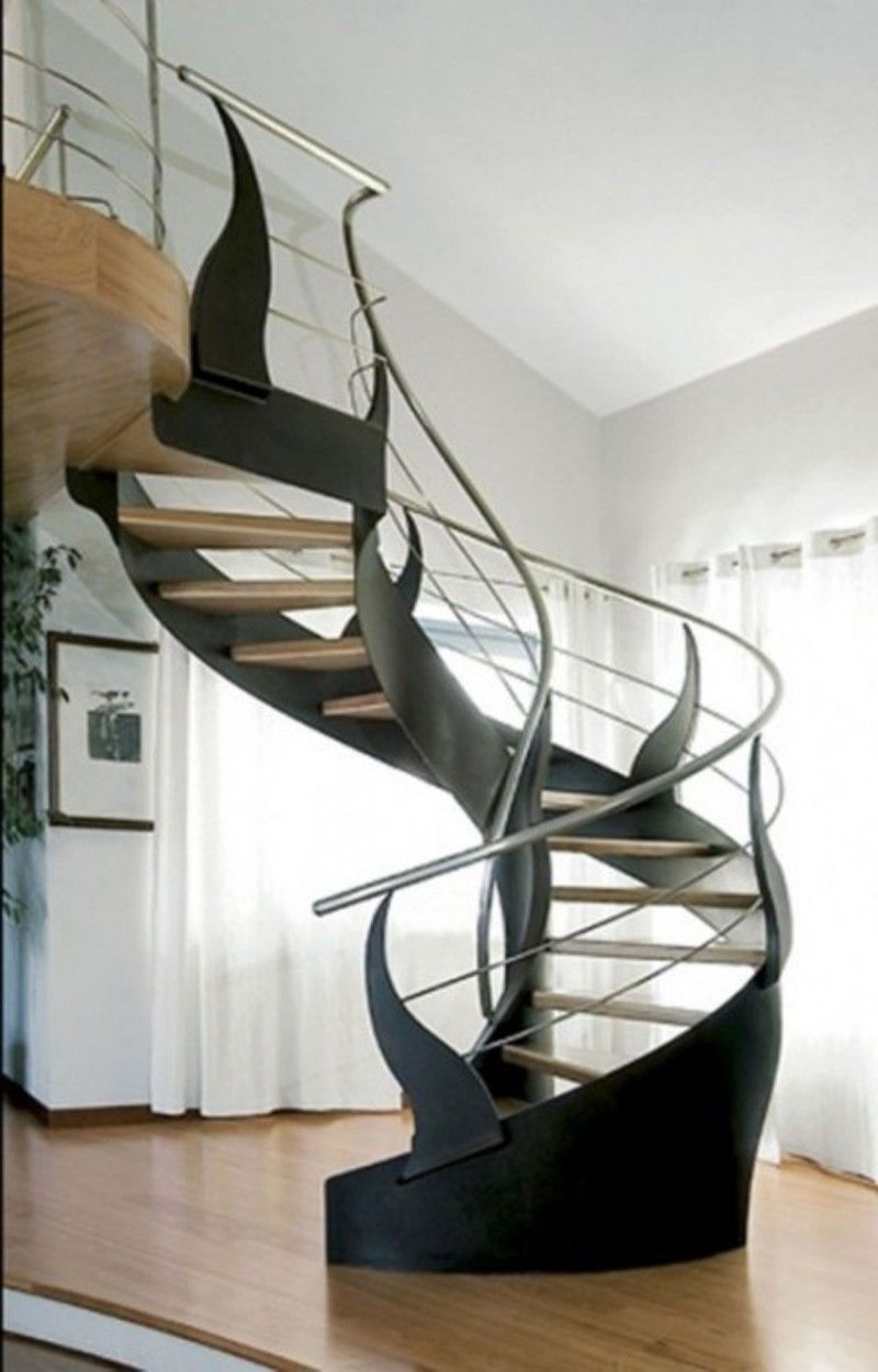 Buy Spiral Staircases UK   Floating Cantilevered Stairs   These Custom  Spiral Stairs Use Minimal Components
