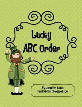 Lucky ABC order-FREE