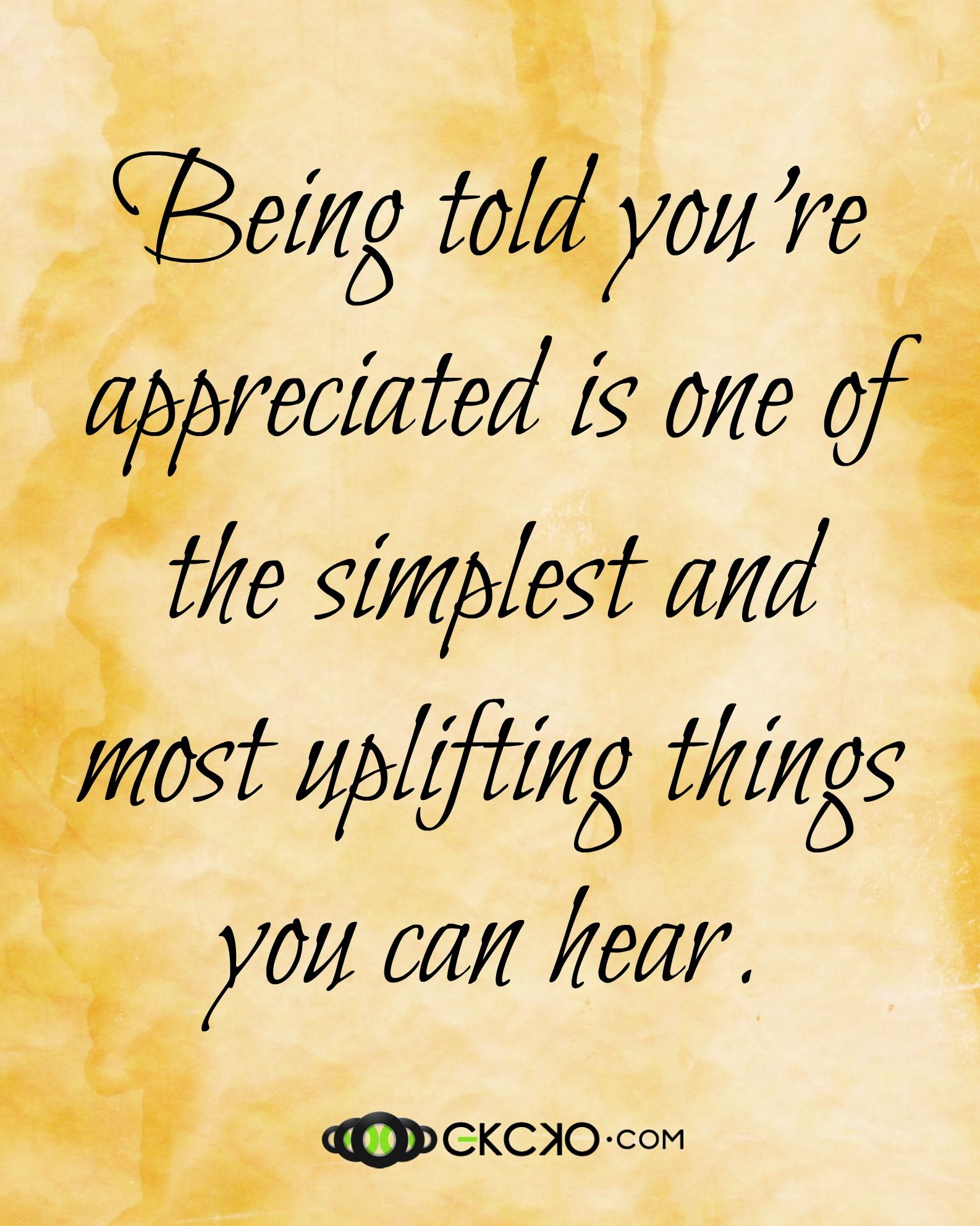 Recognition Quotes | Being Appreciated Quote Attitude Of Gratitude Pinterest