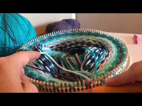 244) Loom Knit Fair Isle - YouTube | All things wool | Pinterest ...